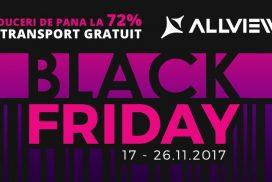 Black Friday 2017: Allview anunta 10 zile de reduceri la 100.000 de produse!