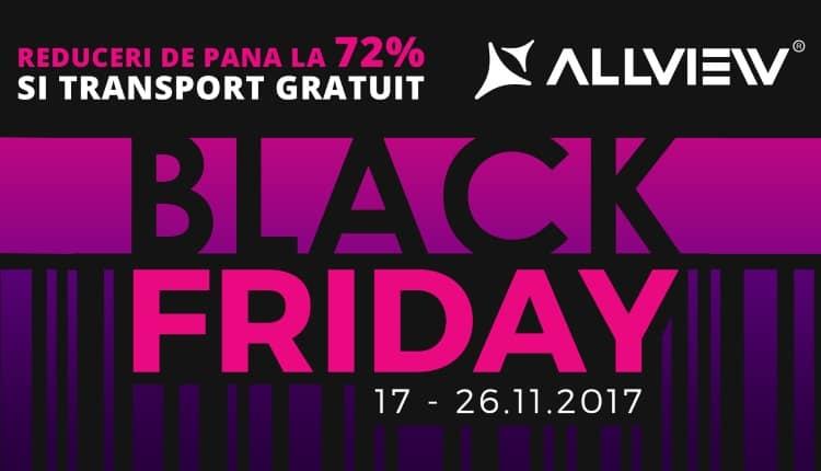 Black Friday 2017 Allview anunta 10 zile de reduceri la 100.000 de produse!