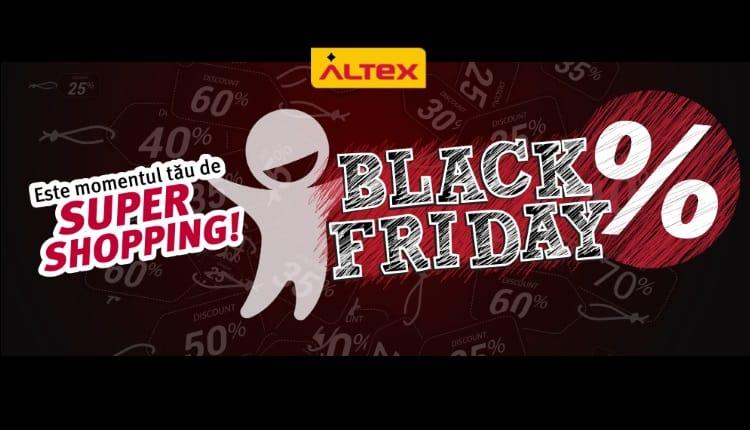 Black Friday 2017 la Altex incepe maine dimineata 16 noiembrie