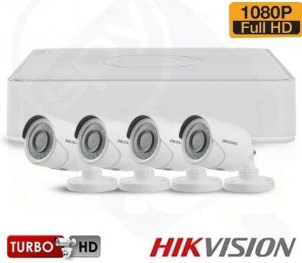 TURBOHD HIKVISION TVI-4EXT20-1080P-S
