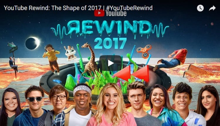 YouTube Rewind 2017 - The Shape of 2017