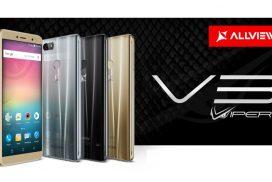 Allview a lansat V3 Viper cu display 18:9, functie Dual WhatsApp si camera foto cu face beauty video