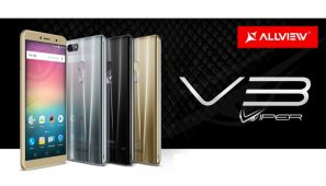 Allview a lansat V3 Viper cu display 18:9, functie Dual WhatsApp si camera foto cu face beauty video