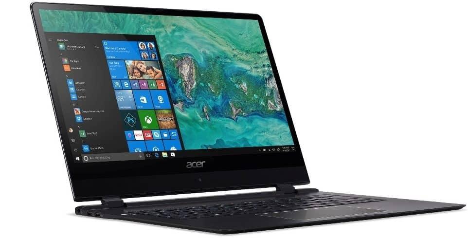 CES 2018 - Acer lanseaza noul Swift 7, cel mai subtire laptop din lume