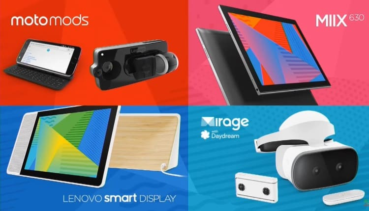 CES2018 – Lenovo MIIX 630, Lenovo Smart Display, Noile Moto Mods, noua Gama ThinkPad