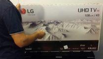LG43UJ620V Video Unboxing - Cel mai ieftin televizor 4K care isi merita banii!