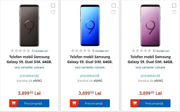 Galaxy S9 la emag