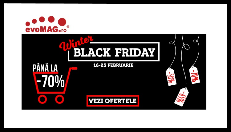 Primavara bate la usa insa avem Winter Black Friday la evoMAG!