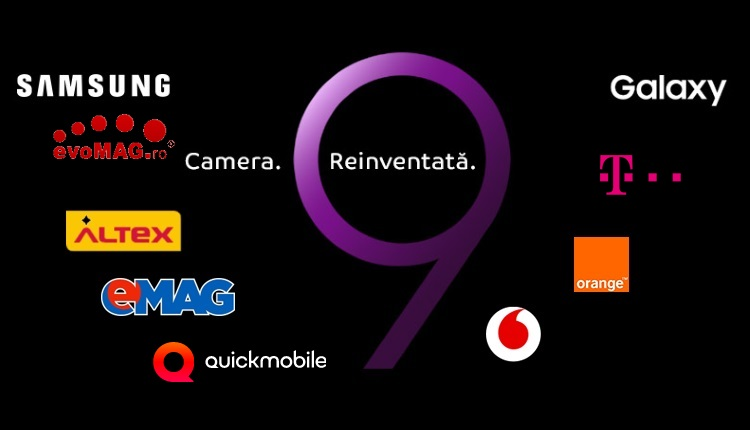Samsung Galaxy S9 si S9 Plus precomanda in Romania la Altex, evoMAG, Vodafone, Orange Telecom, QuickMobile...