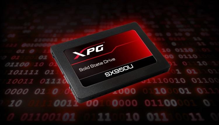 ADATA lanseaza SX950U, un nou SSD de gaming din gama XPG