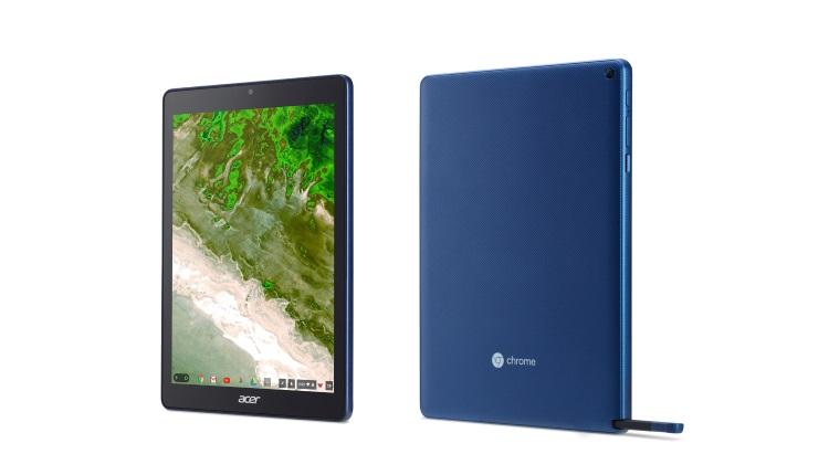 Acer Chromebook Tab 10 (D651N) - Prima tablete pentru educatie care ruleaza Chrome
