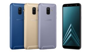 Samsung Galaxy A6 si A6+ au ajuns si in Romania