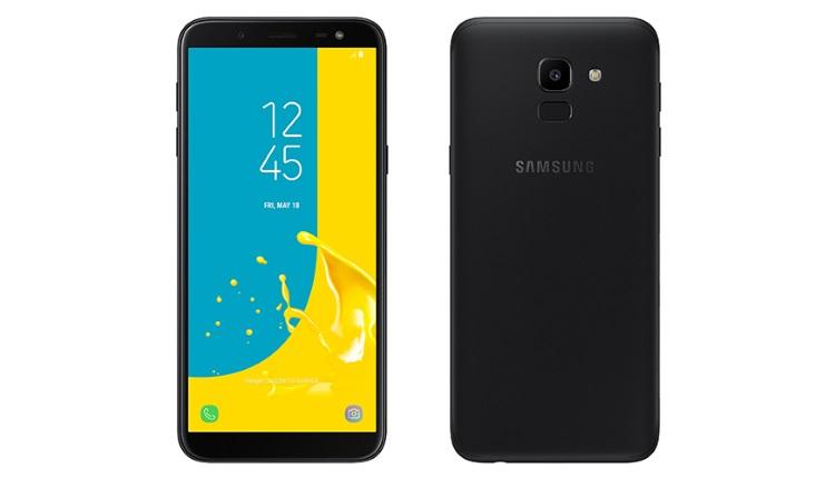 Samsung Galaxy J6 (2018) cu ecran Infinity Display si senzor de amprenta pe spate