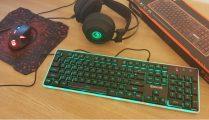 Unboxing si prezentare tastatura de gaming Redragon Dyaus K509 cu ilumintare RGB