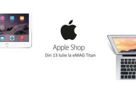 eMAG deschide un nou Apple Shop in Titan