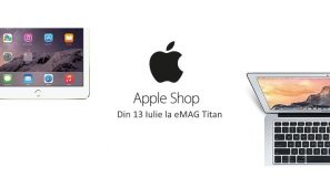 eMAG deschide un nou Apple Shop in Titan