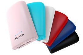 ADATA lanseaza o noua gama de baterii externe