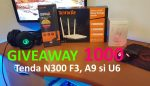 Concurs Router Tenda N300 F3 (Giveaway 1000)ss