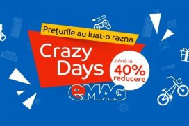 Crazy Days la eMAG in data de 6 august 2018