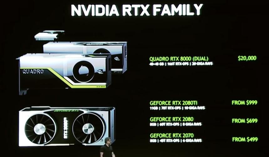 Nvidia RTX2080 s-a lansat ieri iar astazi le poti comanda de la PCGarage-preturi