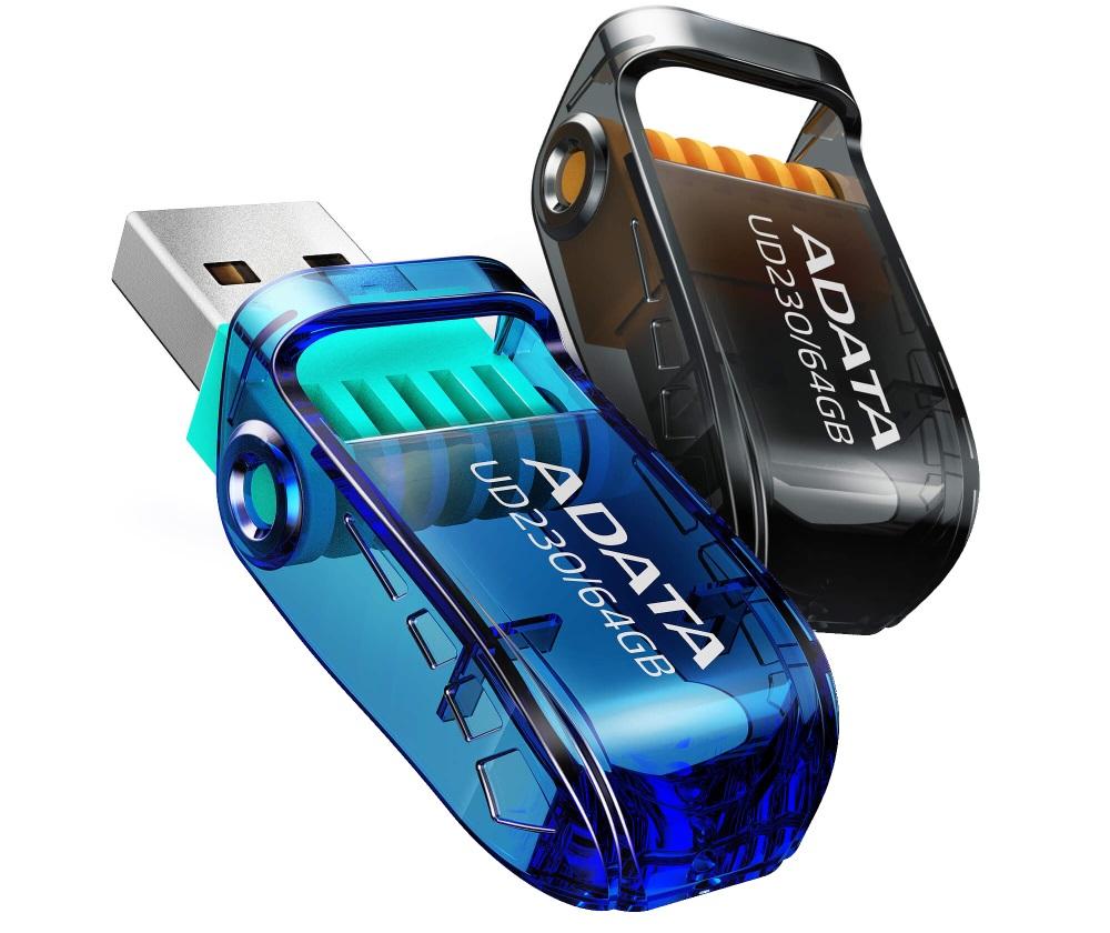 ADATA UD230 si UD330 noi memorii USB de 64GB si 128GB-1