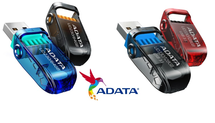 ADATA UD230 si UD330 noi memorii USB de 64GB si 128GB