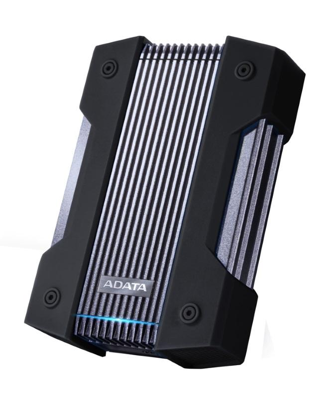 ADATA lanseaza HD830 un nou hard disk extern indestructibil_negru