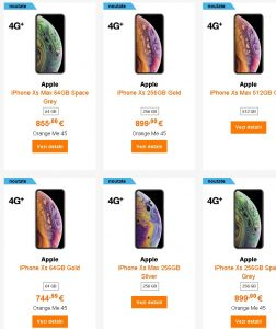 Preturile din Romania (la precomanda) pentru iPhone Xr, Xs si Xs MAX, la eMAG, Altex, Flanco4