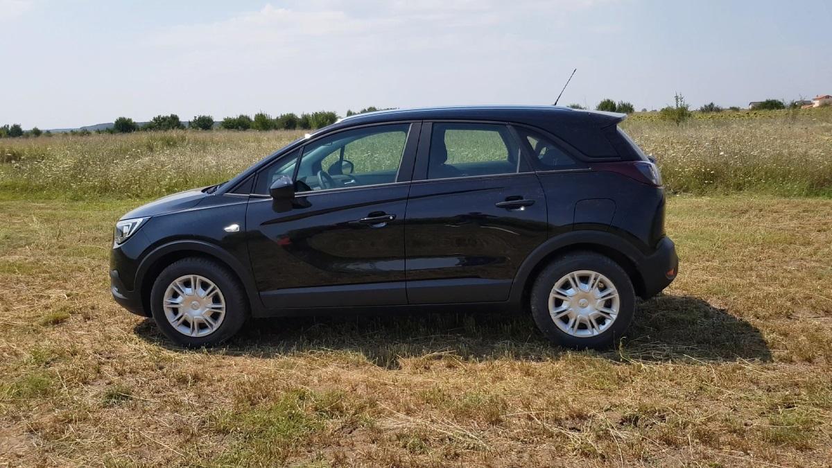 Review Opel Crossland X 2018, 12 litri Turbo, Benzina de 130 HP (Video)-laterala