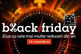 Black Friday la eMAG 2018 va fi tot intr-o vineri, pe 16 Noiembrie