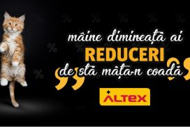"Maine incepe ""Blec Fraidei"" 2018 la Altex (nu Black Friday!) de sta manta-n coada :)"