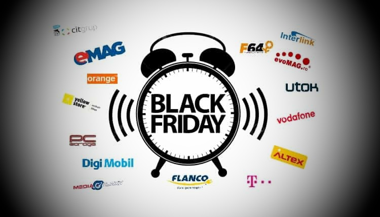Black Friday 2019: lista magazine, cataloage oferte, data si ora incepere eMAG, Altex, PCGarage, evoMAG