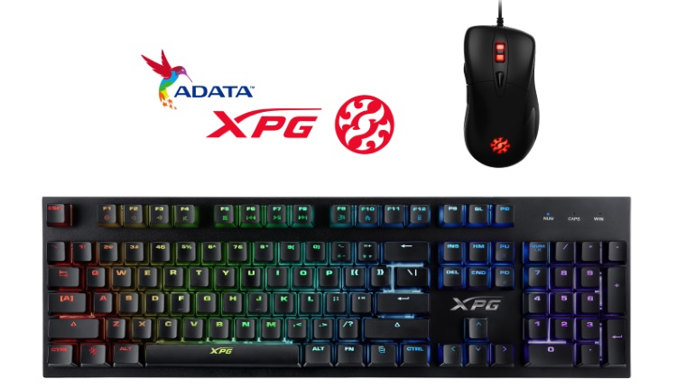 Noi accesori de gaming ADATA tastatura XPG INFAREX K10 si mouse XPG INFAREX M20