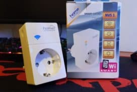 Priza inteligenta (SMART) Home NVS 1 cu WIFI pe care o poti accesa din internet (video)