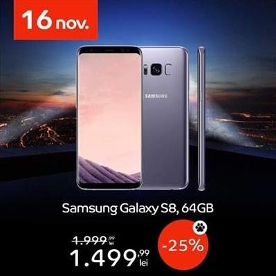 Samsung Galaxy S8 BF2018 eMAG