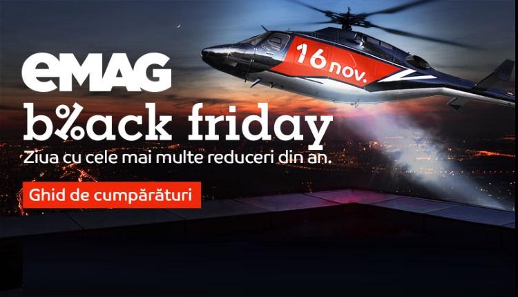 eMAG Black Friday 2018 - Primele produse cu pret redus care vor fi afisate vineri!