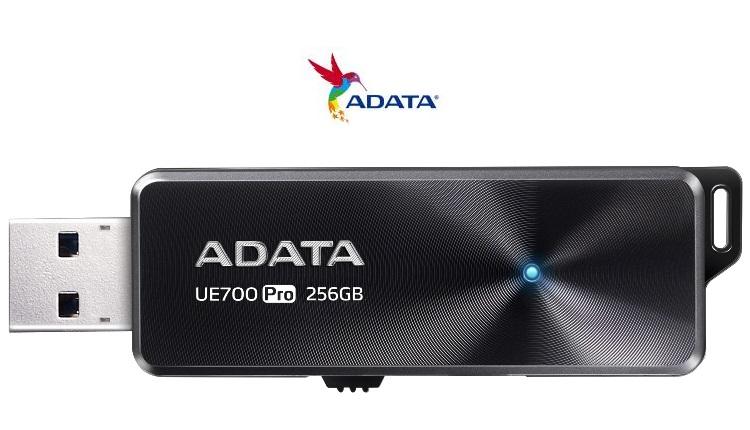 ADATA lanseaza noi memoriile USB UE700 Pro cu pana la 256GB spatiu de stocare