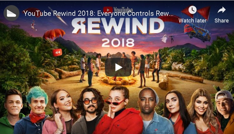 YouTube Rewind 2018 – Everyone Controls Rewind