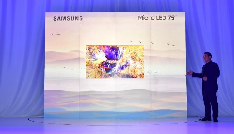CES 2019 - Samsung dezvaluie tehnologia modulara Micro LED pentru ecrane