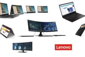 CES 2019 - Lenovo a lansat mai multe produse: ThinkPad X1 Carbon si Yoga, ThinkVision P44w, Smart Clock cu Google Assistant....