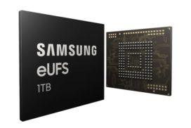 Samsung lanseaza prima memorie de stocare flash (eUFS) de 1TB pentru dispozitivele mobile
