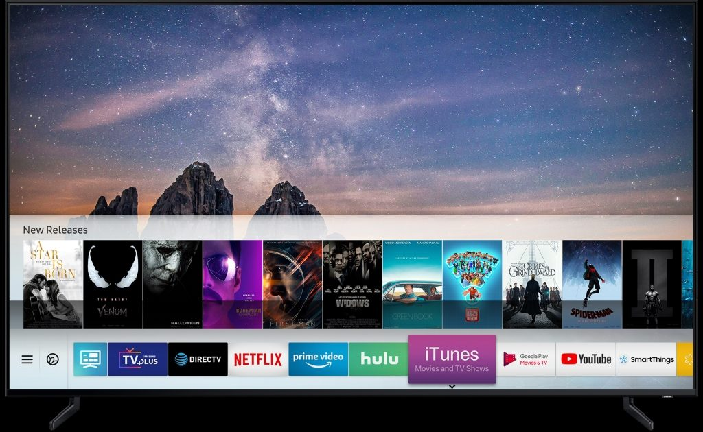 Samsung va integra iTunes Movies & TV Shows, AirPlay 2 la televizoarele smart