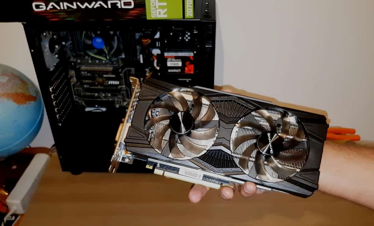 (Video)Upgrade PC de Gaming 2- Gainward GeForce RTX 2070