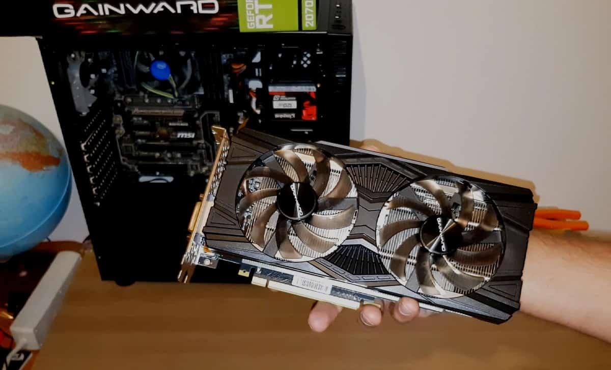 (Video)Upgrade PC de Gaming 2- Gainward GeForce RTX 2070