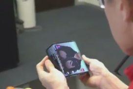 Xiaomi a dezvaluit intr-un video prototipul unui telefon cu ecran pliabil