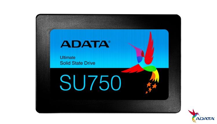 "ADATA lanseaza SSD-urile Ultimate SU750 2.5"" SATA 6Gbs"