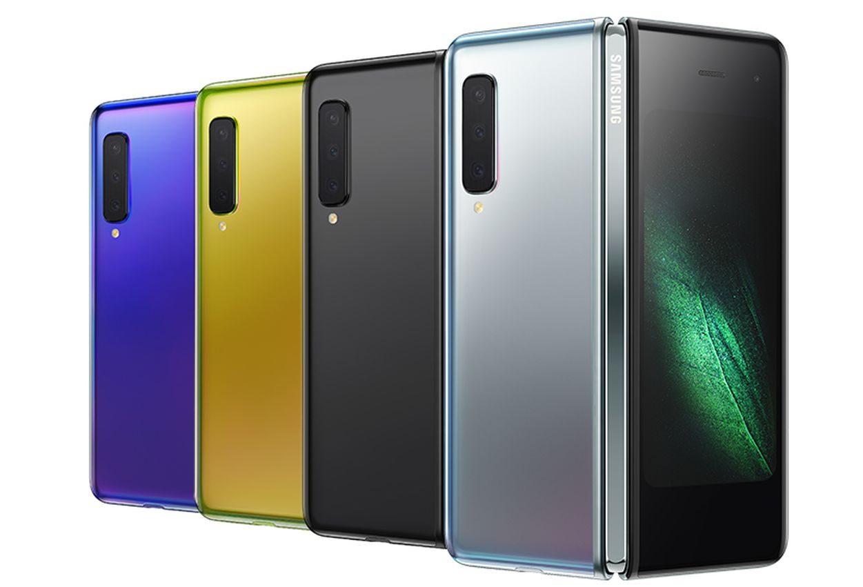 Samsung a dezvaluit Galaxy Fold cu ecran Infinity Flex Display de 7 inci cu 12 GB de RAM si un pret de 2000 E-culori