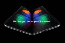 Samsung a dezvaluit Galaxy Fold cu ecran Infinity Flex Display de 7,3 inci cu 12 GB de RAM si un pret de 2000 de dolari