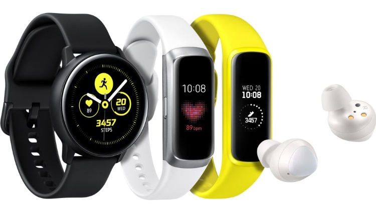 Samsung a lansat si castile Galaxy Buds, un nou Galaxy Watch Active si bratarile Galaxy Fit specificatii