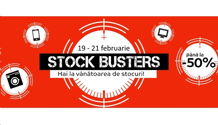 eMAG Stock Busters 19 Februarie 2019